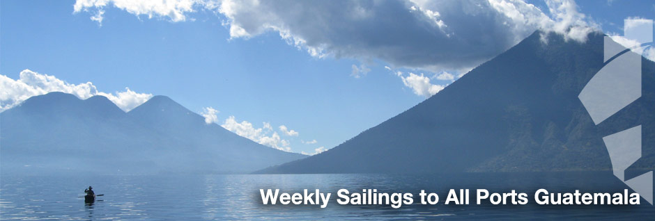 Weekly Consolidation Service to our offices in Guatemala